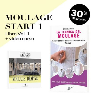 Moulage Start 1: Libro + video corso