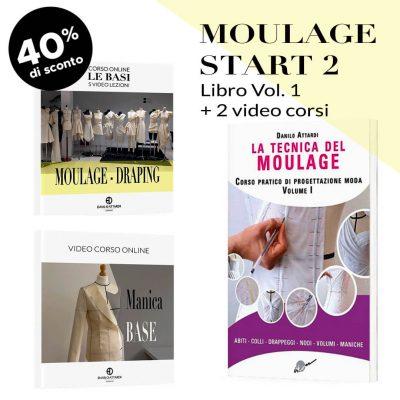 Moulage Start 2: Libro + 2 video corsi
