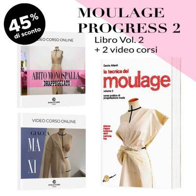 Moulage Progress 2: Libro + 2 video corsi